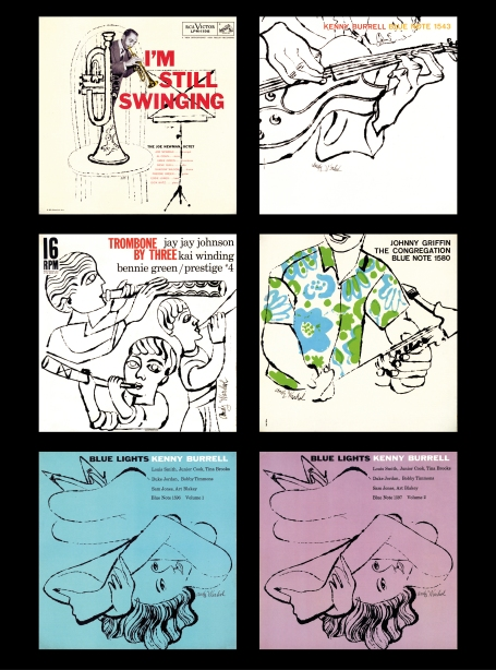 Andy Warhol Jazz Covers 1956-58