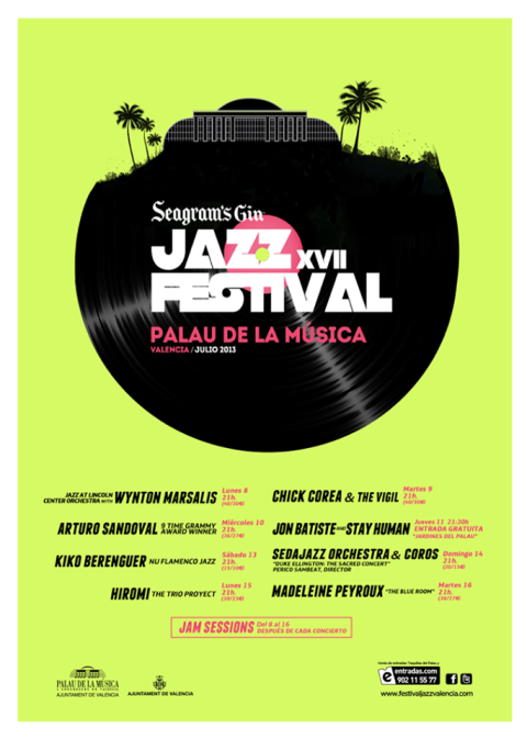 Cartel JAZZ VLC 2013