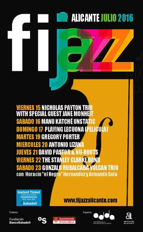 fijazz-alicante-2016-cartel
